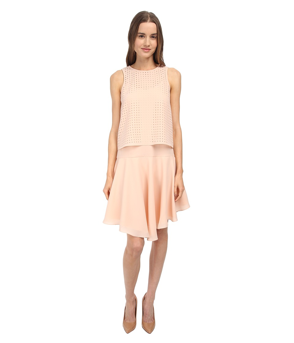 tibi - Sleeveless Dress (Blush) Women's Dress
