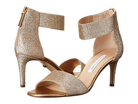 Diane von Furstenberg - Kinder (Gold Fine Glitter) High Heels