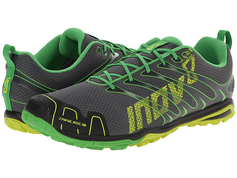 inov-8 - trailroc 245 (Grey/Yellow/Green) Men's Running Shoes
