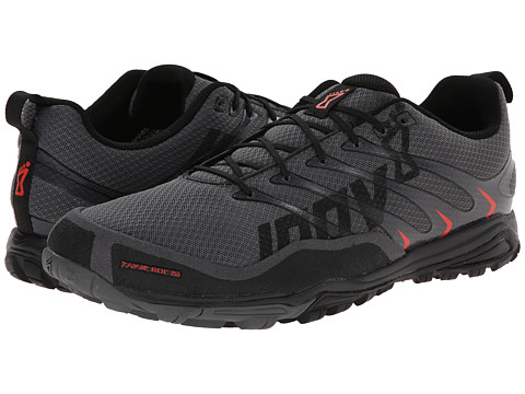 inov-8 - trailroc 255 (Grey/Black/Red) Men's Running Shoes