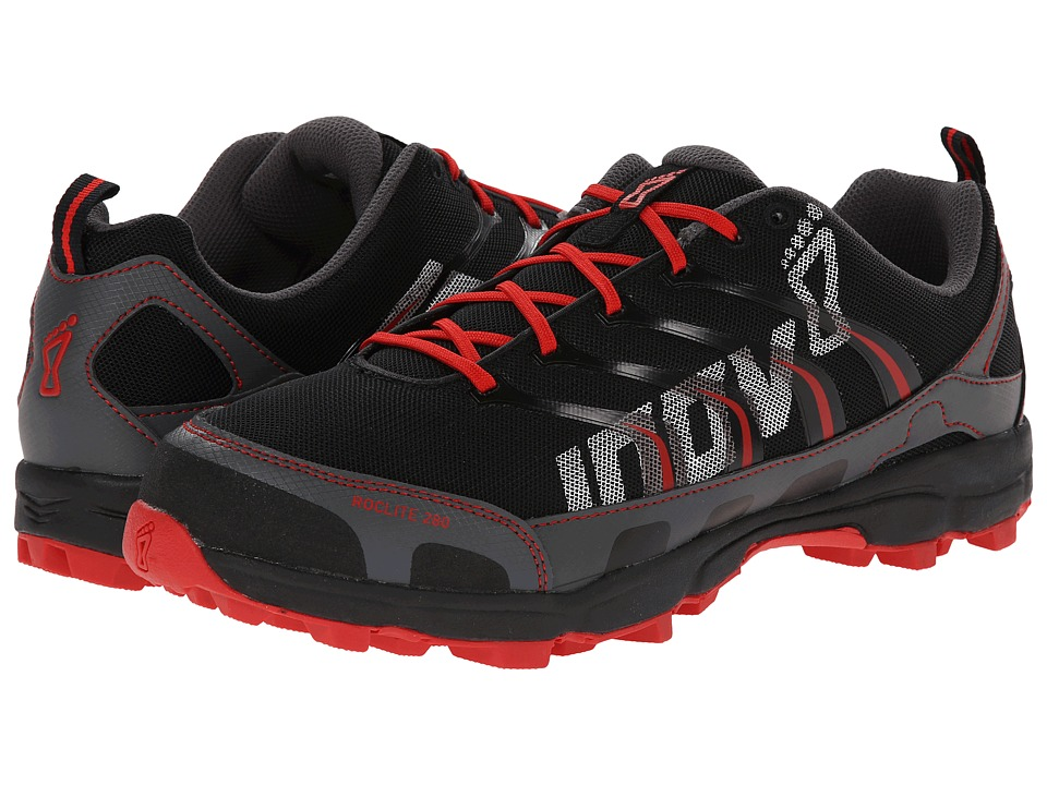 inov-8 - Roclite 280 (Black/Red) Men's Running Shoes