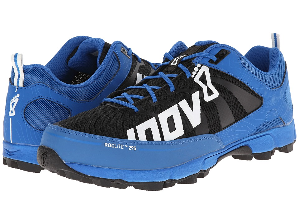 inov-8 - Roclitetm 295 (Blue/Black/White) Men's Running Shoes