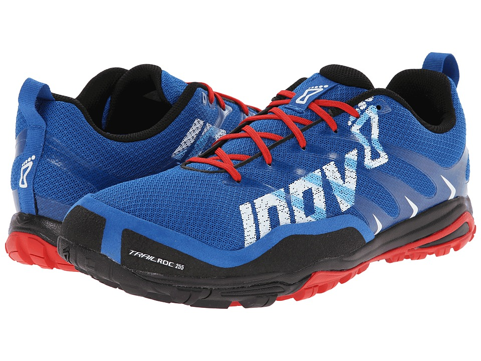 inov-8 - Trailroctm 255 (Blue/Black/Red) Men's Running Shoes