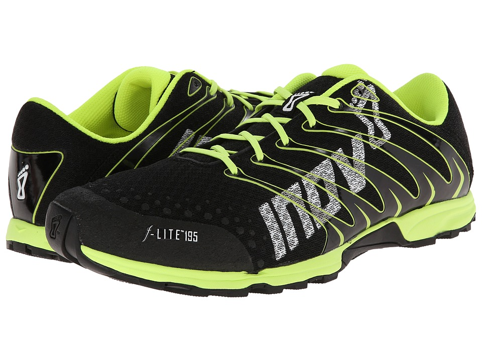 inov-8 - F-Lite 195 (Black/Yellow) Men's Running Shoes