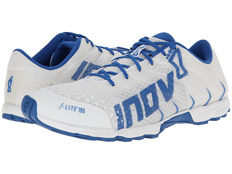 inov-8 - F-Lite 195 (White/Blue) Men's Running Shoes