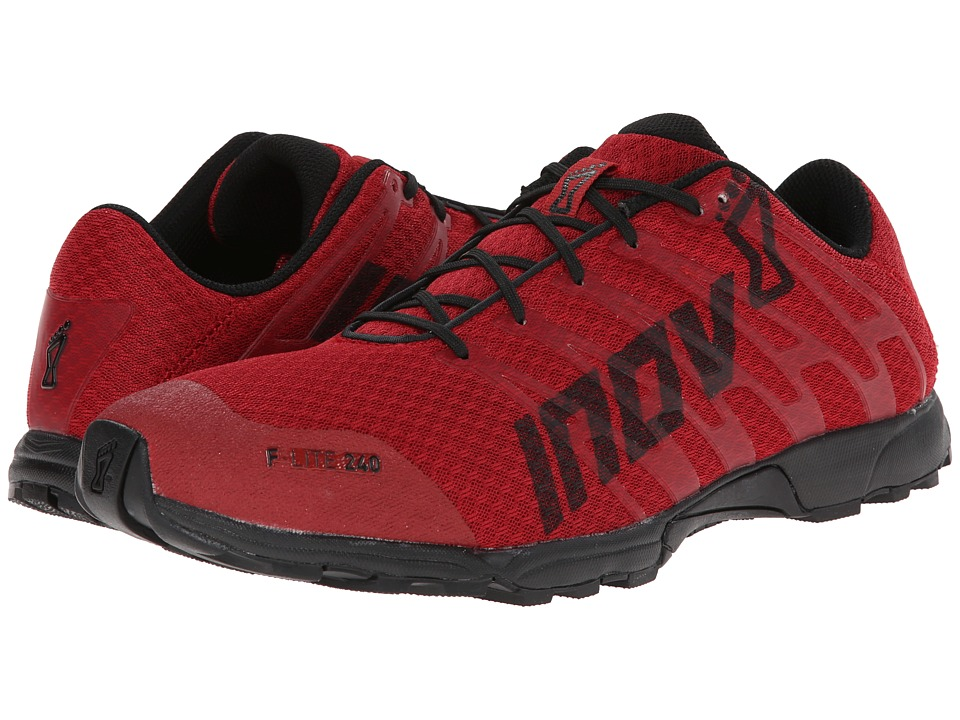 inov-8 - F-Lite 240 (Chilli/Charcoal) Men's Running Shoes