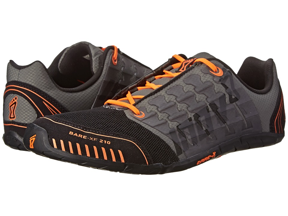 inov-8 - Bare-XF 210 (Thyme/Black/Orange) Running Shoes
