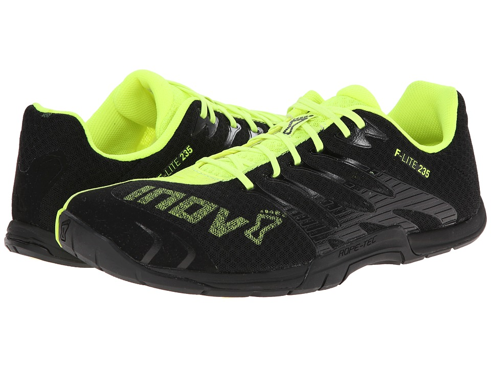 inov-8 - F-Lite 235 (Black/Yellow) Men's Running Shoes