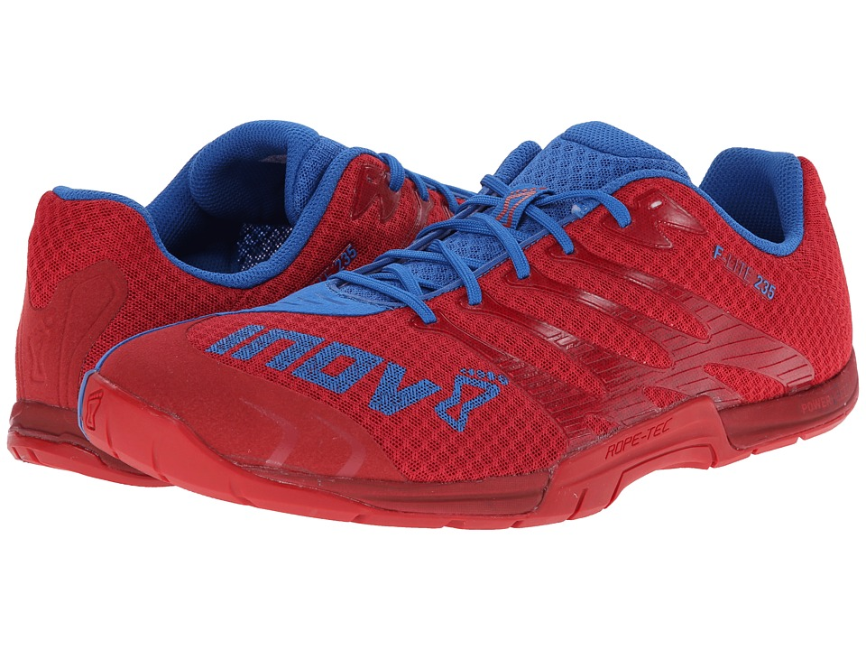 inov-8 - F-Lite 235 (Chilli/Blue) Men's Running Shoes