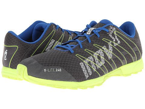inov-8 - F-Lite 240 (Grey/Yellow/Blue) Men's Running Shoes