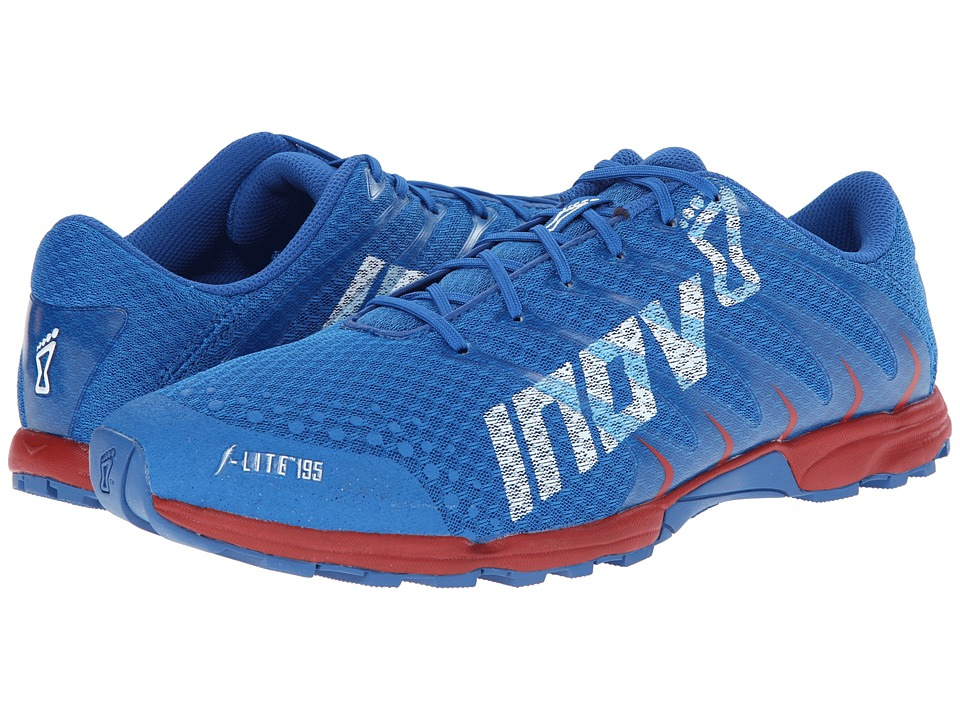 inov-8 - F-Lite 195 (Blue/Chilli/White) Men's Running Shoes