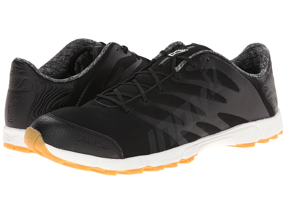 inov-8 - F-Lite 230 (Black/White/Gum) Running Shoes