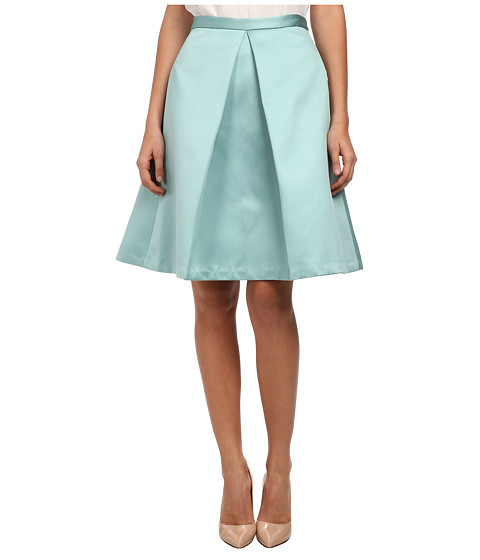tibi - Pleated Skirt (Calming Mint) Women