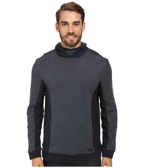 Calvin Klein Jeans - Reverse Side Piecing Hoodie (Blue Grindle) Men