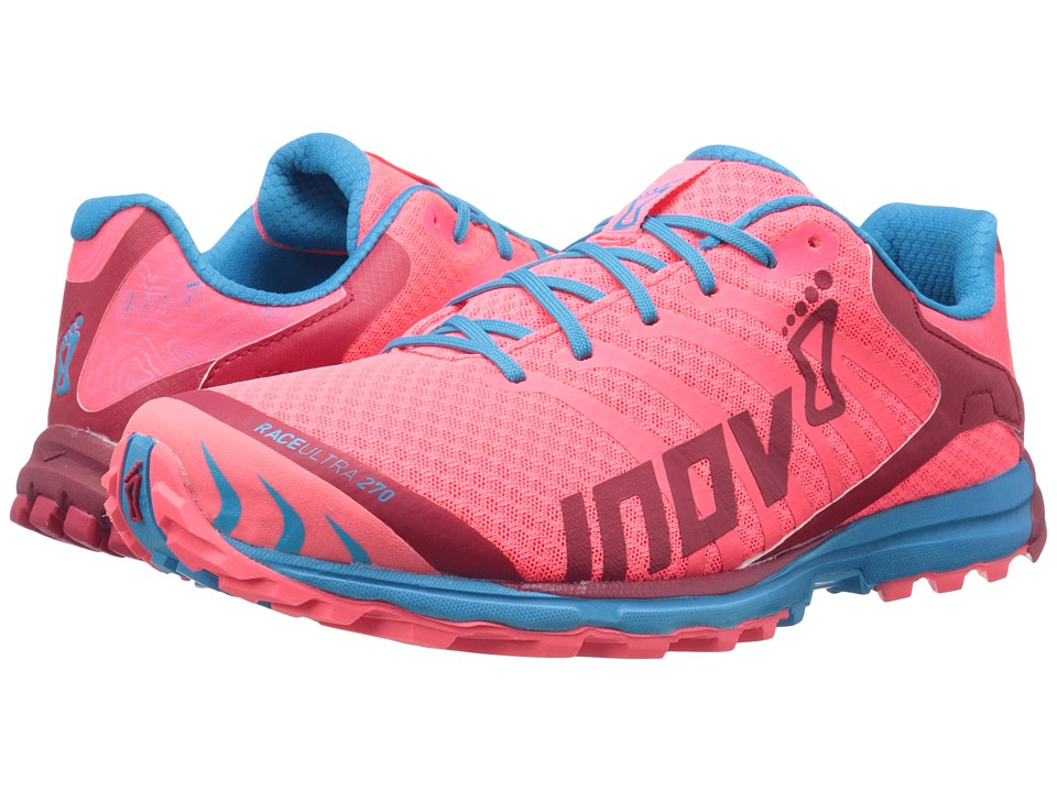 inov-8 - Race Ultra 270 (Pink/Berry/Blue) Women's Running Shoes
