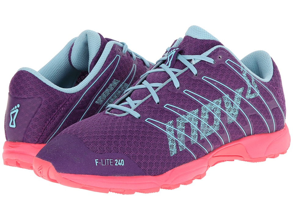 inov-8 - F-Lite 240 (Purple/Pink/Blue) Women's Running Shoes