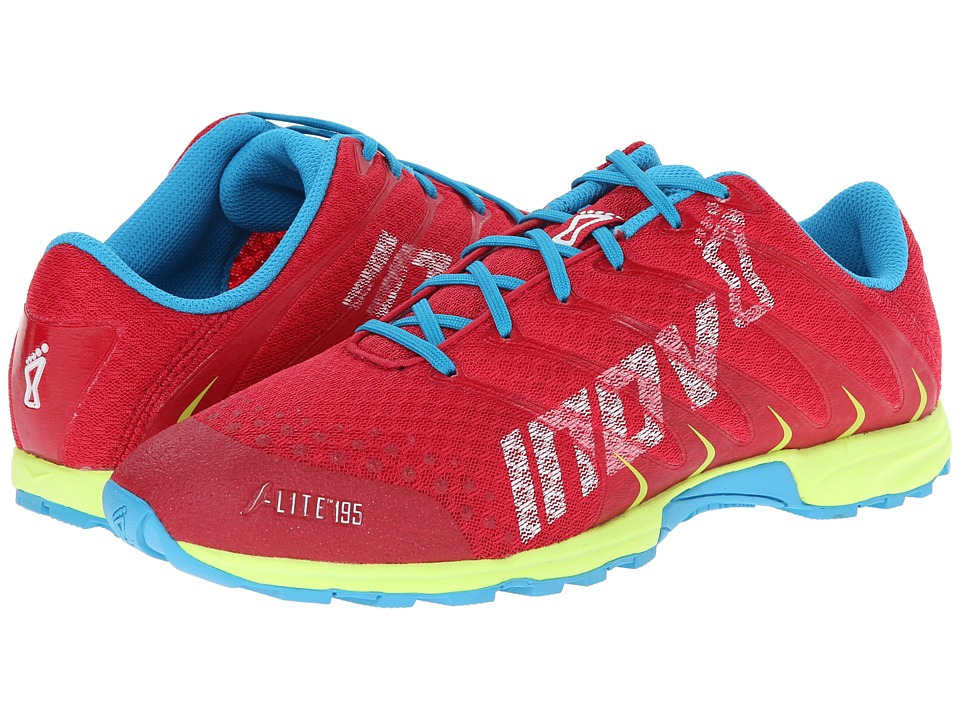 inov-8 - F-Lite 195 (Berry/Yellow) Women's Running Shoes