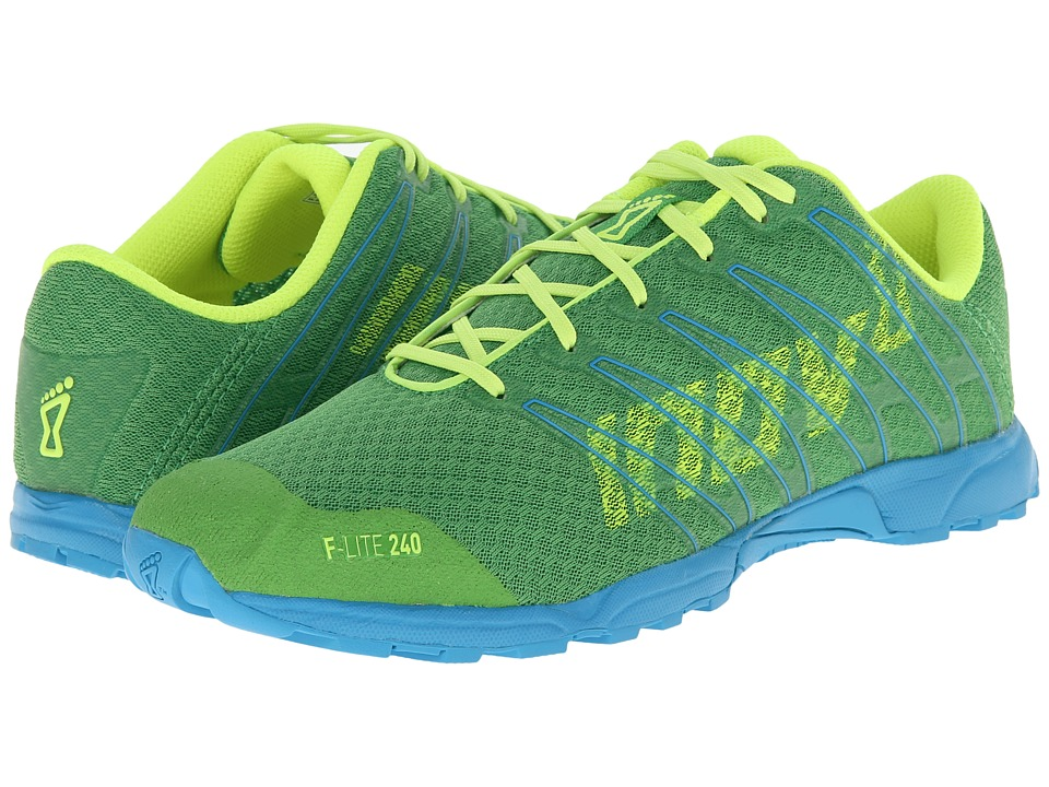 inov-8 - F-Lite 240 (Green/Blue/Yellow) Women's Running Shoes