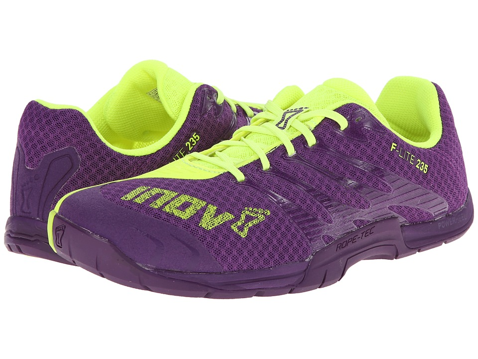 inov-8 - F-Lite 235 (Purple/Yellow) Women's Running Shoes