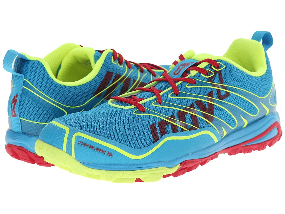 inov-8 - Trailroc 255 (Blue/Pink/Yellow) Women's Running Shoes