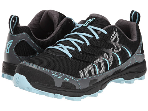 inov-8 - Roclite 280 (Grey/Light Blue) Women's Running Shoes