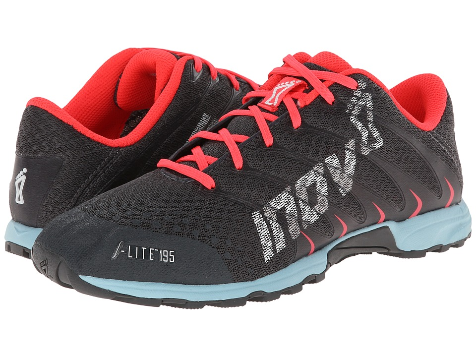 inov-8 - F-Lite 195 (Grey/Blue) Women's Running Shoes