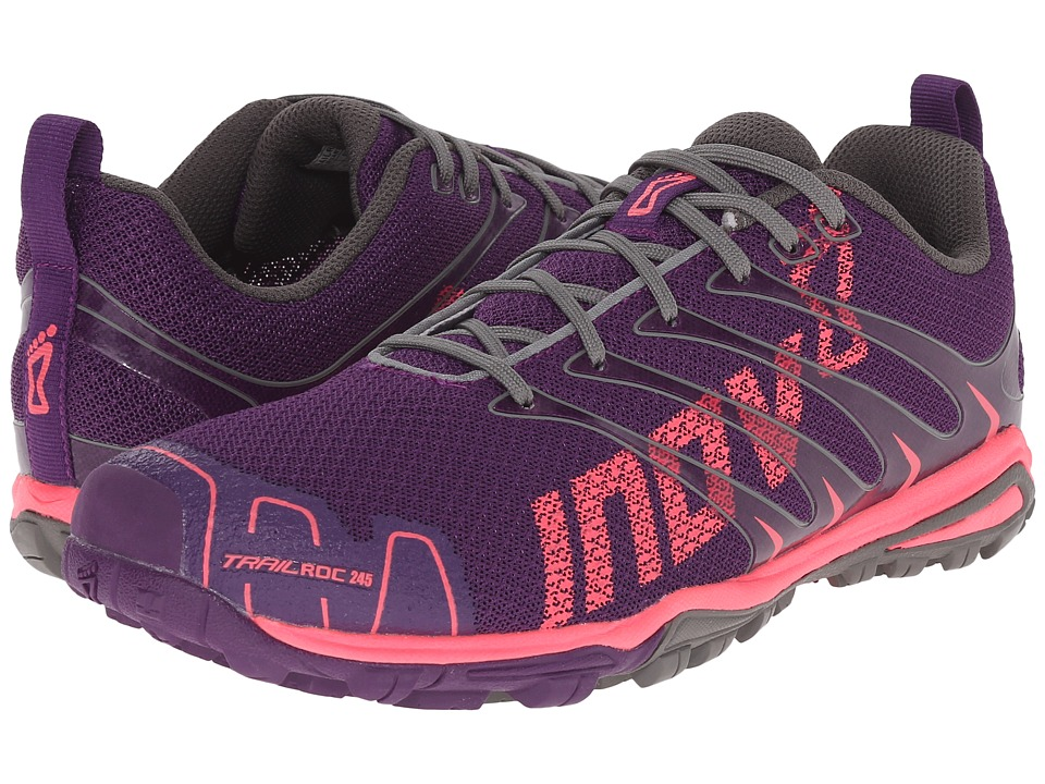 inov-8 - Trailroc 245 (Purple/Pink) Women's Running Shoes