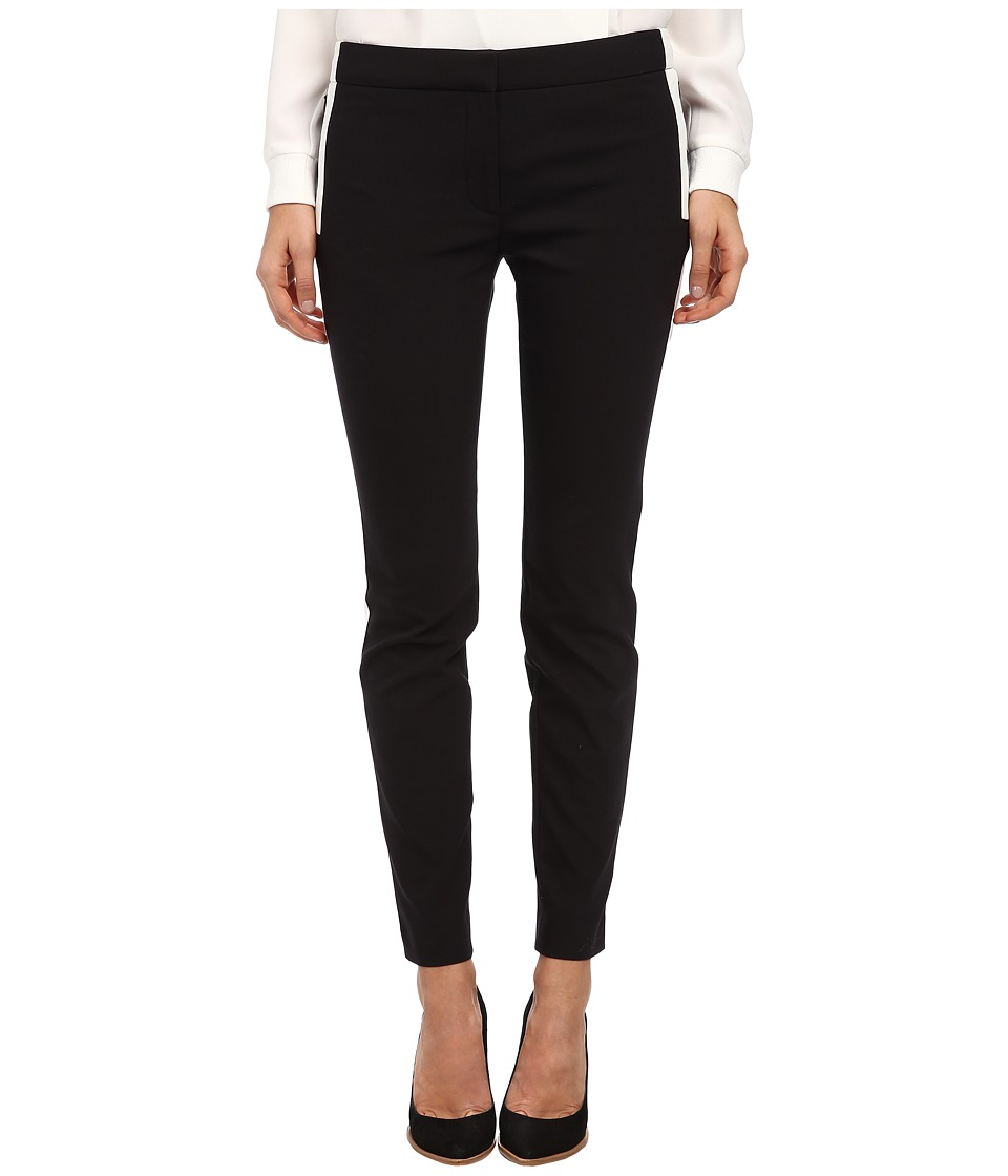tibi - Skinny Pant (Black/Ivory Multi) Women's Casual Pants