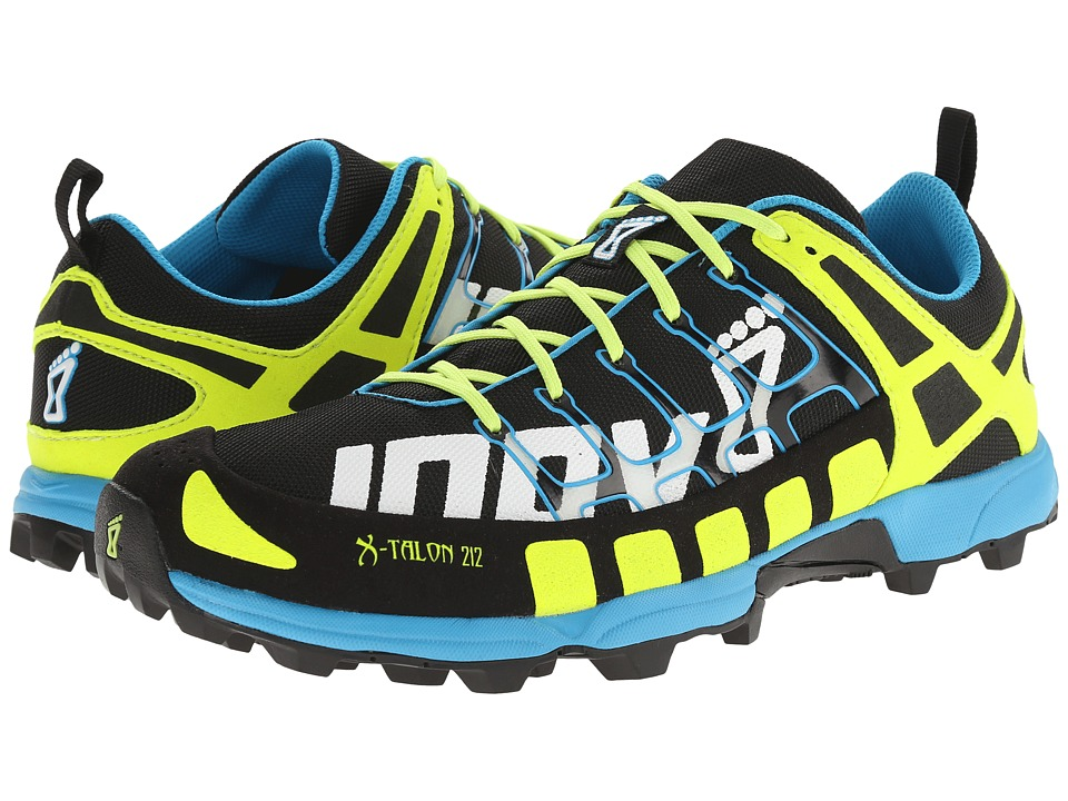 inov-8 X-Talon 212 (Black/Yellow/Blue) Running Shoes