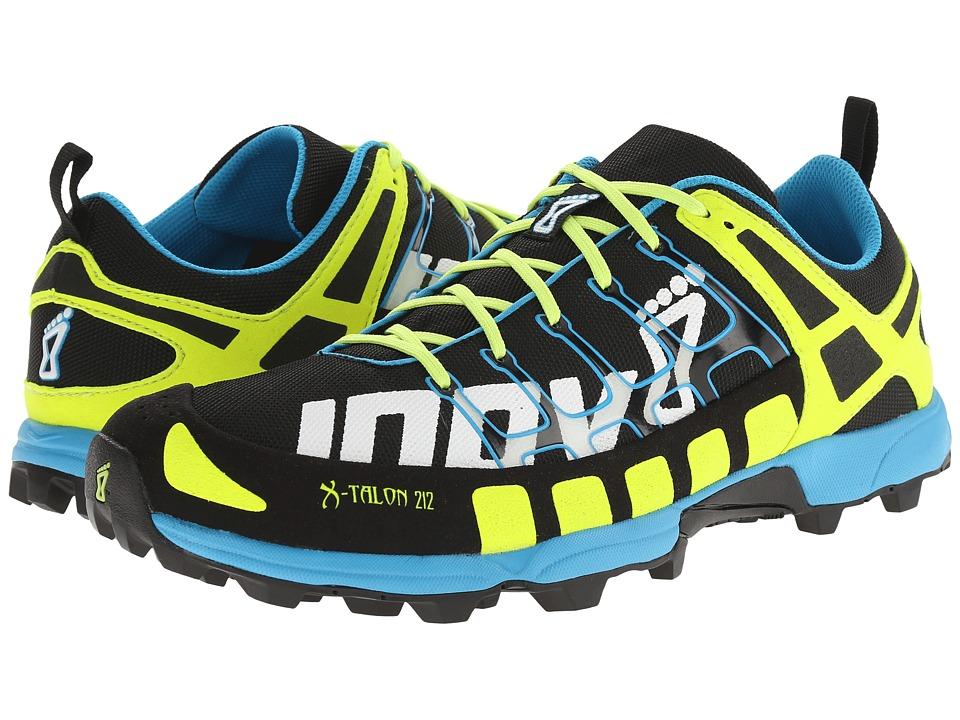 inov-8 - X-Talon 212 (Black/Yellow/Blue) Running Shoes