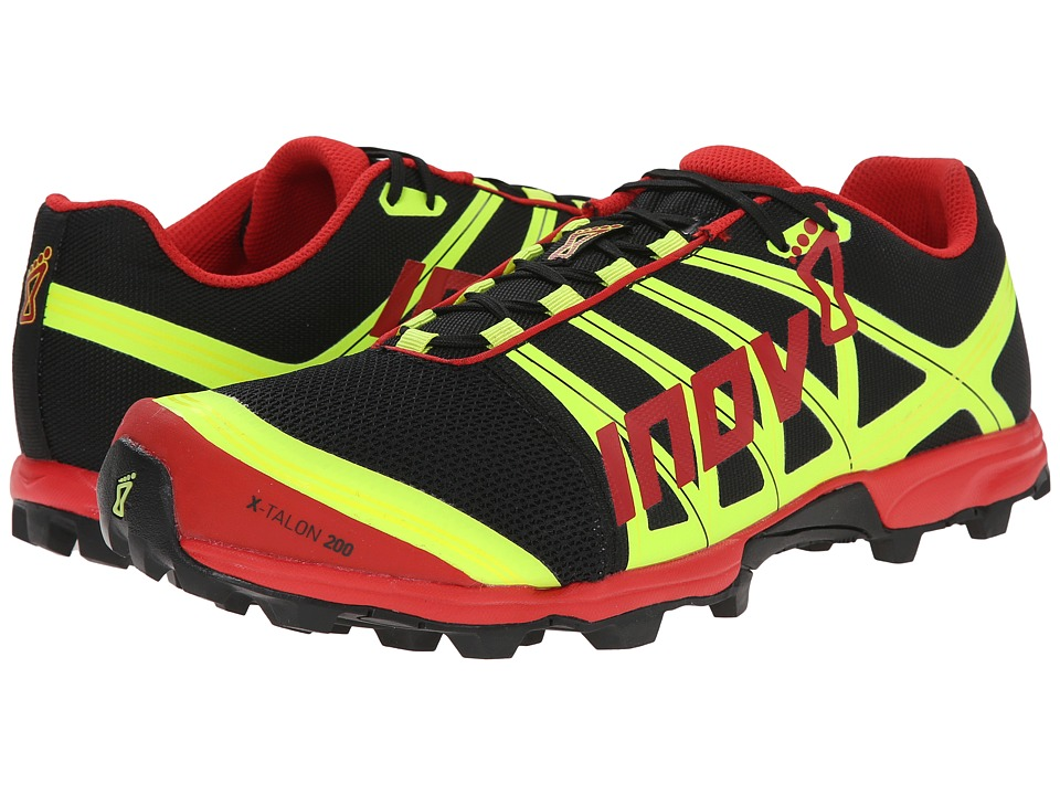 inov-8 - X-Talon 200 (Black/Red/Yellow) Running Shoes