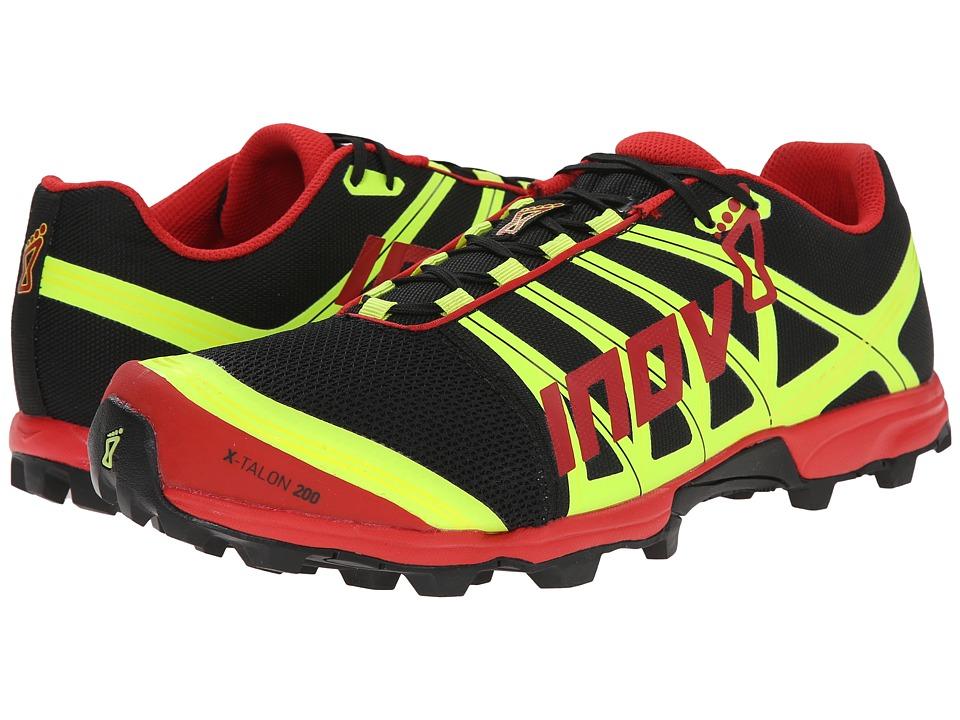 inov-8 - X-Talon 200 (Black/Red/Yellow) Running Shoes