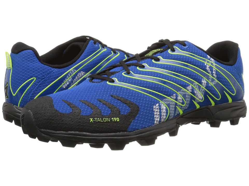 inov-8 X-Talon 190 (Blue/Black/Yellow) Running Shoes
