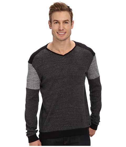 Calvin Klein Jeans - L/S 2x2 Rib Blocked (Black 050000) Men