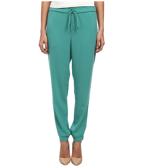 tibi - Jogging Pant (Underwater Green) Women's Casual Pants