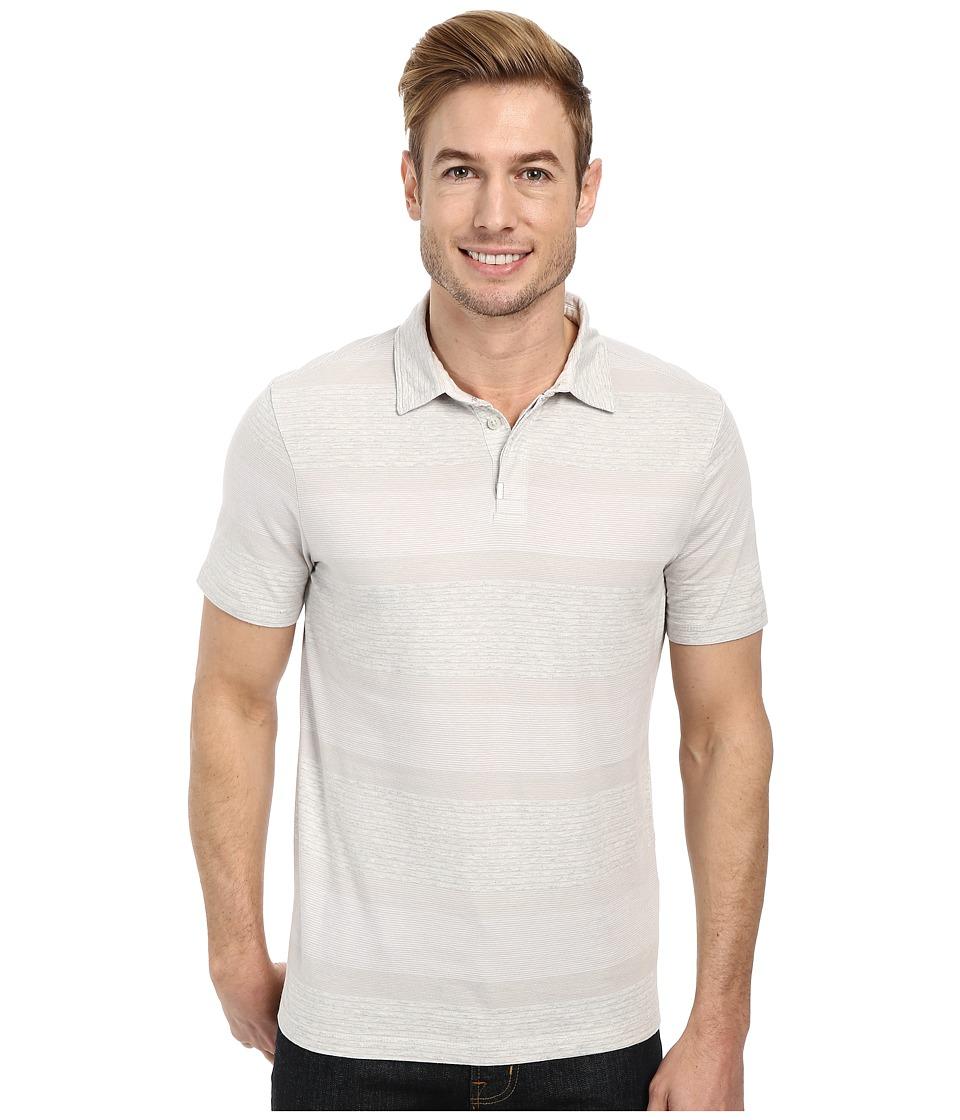 Calvin Klein Jeans - Stripe Polo (White) Men's Short Sleeve Pullover