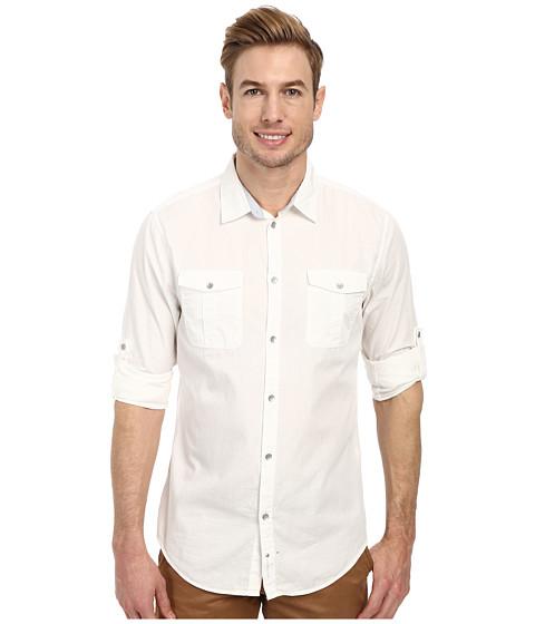 Calvin Klein Jeans - Rip Stop Shirt (White) Men