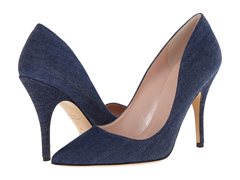 Kate Spade New York - Licorice (Blue Jeans Fabric) High Heels