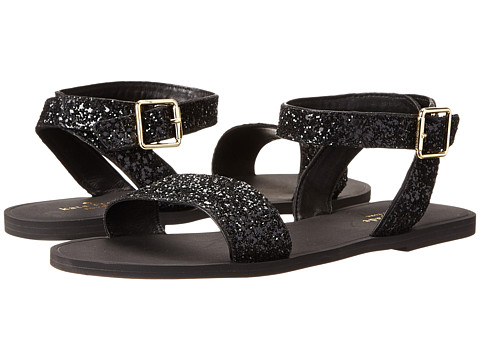 Kate Spade New York - Coney (Black Glitter) Women's Sandals