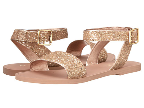 Kate Spade New York - Coney (Rose Gold Glitter) Women's Sandals