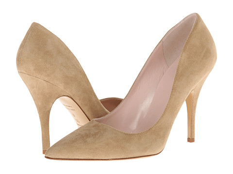 Kate Spade New York - Licorice (New Sand Suede) High Heels