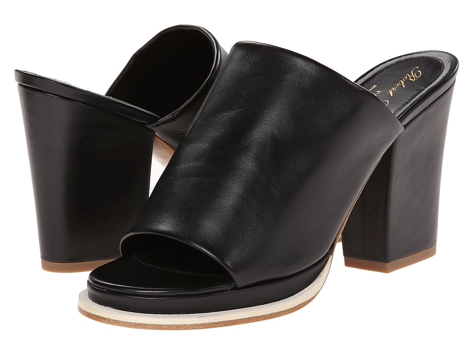 Robert Clergerie Astro (Black Nappa Leather) Women