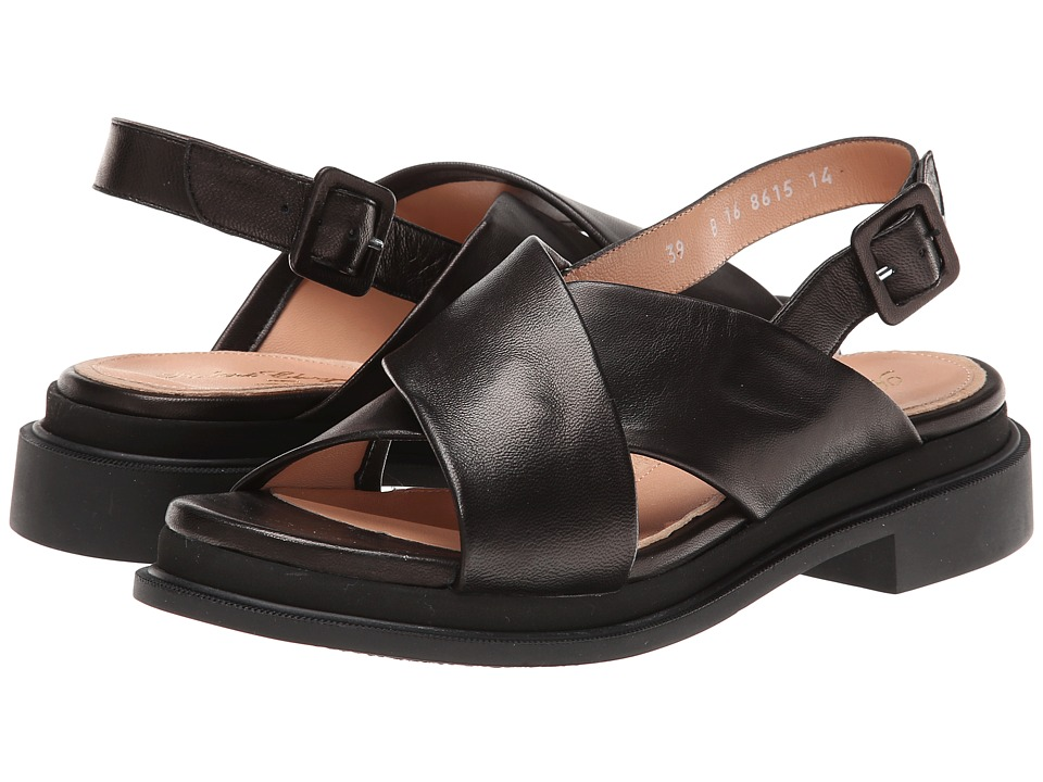 Robert Clergerie - Caliente (Black Nappa Leather) Women