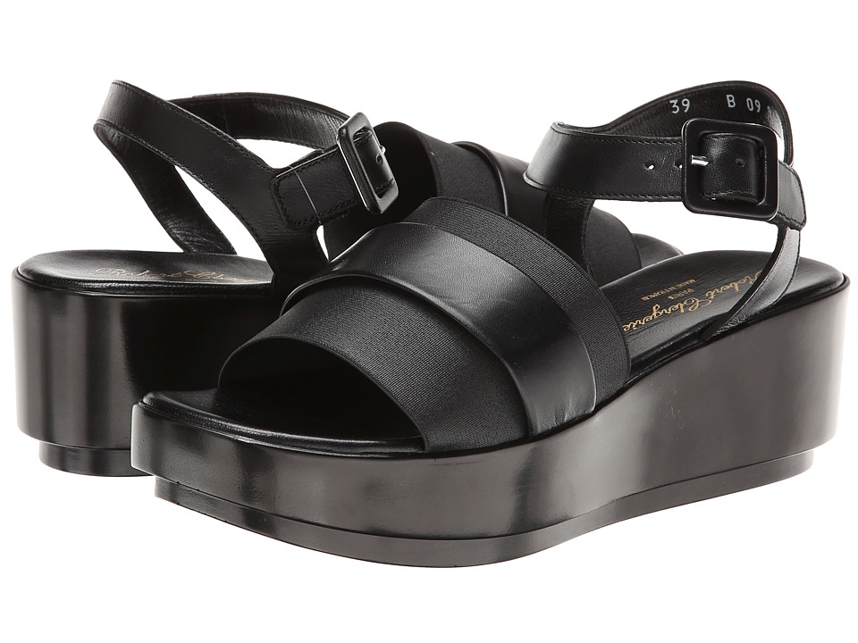 Robert Clergerie - Pod (Black Lcalf) Women's Shoes