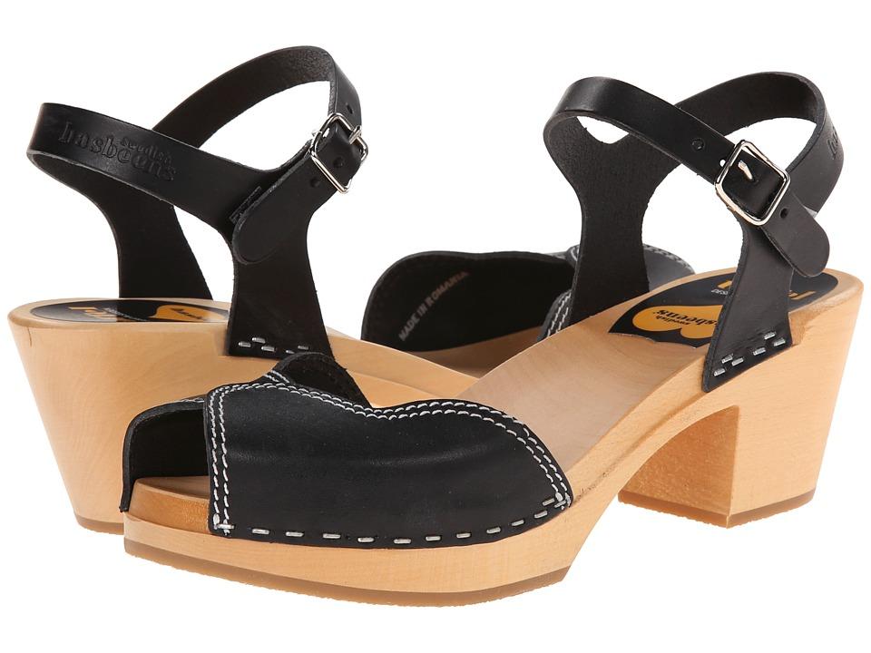 Swedish Hasbeens - Heart High (Black) High Heels