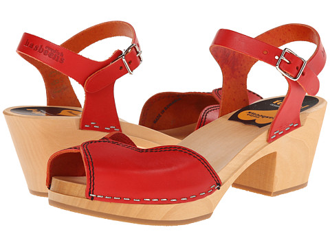 Swedish Hasbeens - Heart High (Red) High Heels