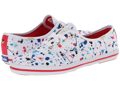 Kate Spade New York - Kick (Multi Splatter Paint Printed Canvas) Women
