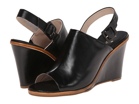 Shop Kate Spade New York online and buy Kate Spade New York Nilena Black Vacchetta Womens Wedge Shoes online