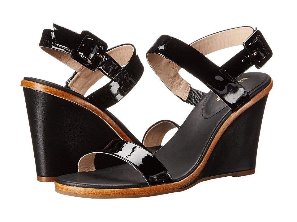 Kate Spade New York - Nice (Black Patent/Black Nappa Heel) Women's Wedge Shoes