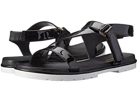 Kate Spade New York - Mckee (Black Patent) Women's Sandals